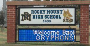 ROCKY MOUNT HIGH SCHOOL